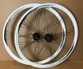 "28/29"" Laufradsatz Shimano Deore HB/FH-M525 /Ryde DP 2000 weiss"