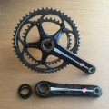 Campagnolo Comp Ultra Carbon Over Torque Kurbel BB30 170mm 53/39Z