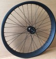 "26"" CNC Fatbike Laufradsatz Novatec/Fat Eight 135/170mm Disc schwarz"