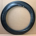 "28"" CNC High Clincher 85mm Vollcarbon Felgenpaar 20/24 Loch"