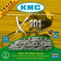 "KMC X101 Track Kette 1/2""x1/8"" silber"